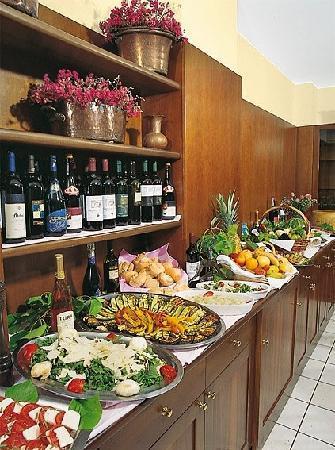 Hotel Parigi: Il buffet..