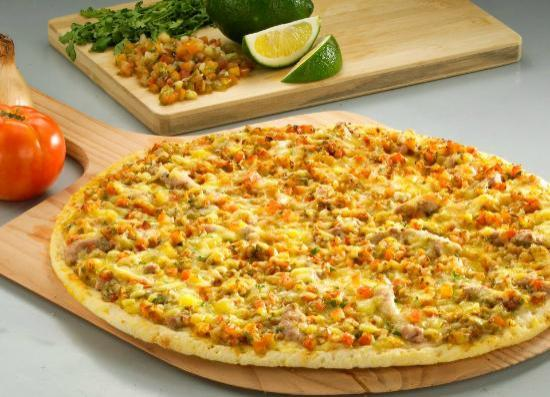 Yellow Cab Pizza: Folded Pizza