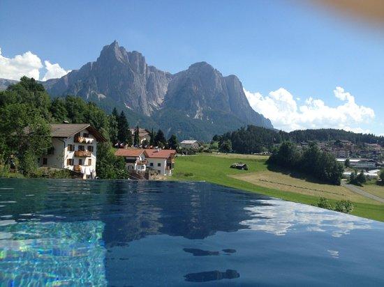 Hotel Alpenflora: piscina panoramica