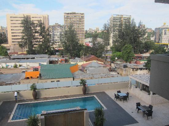 Afrin Prestige Hotel: Terrace of the hotel