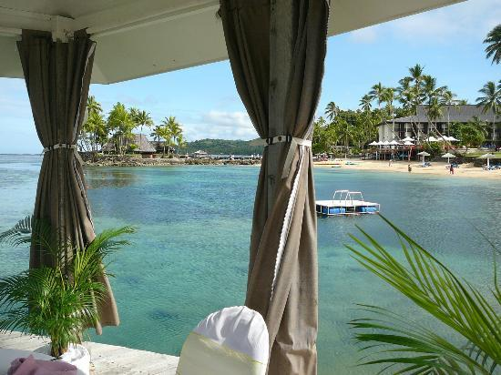 The Warwick Fiji: Lagoon from Romantic Bure
