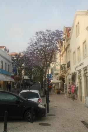 Hotel da Vila: street of Cascais