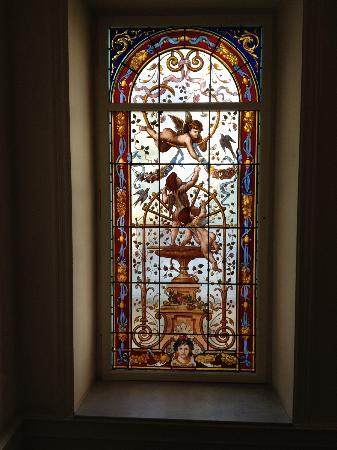 Baur au Lac: Beautiful Windows in the Hall