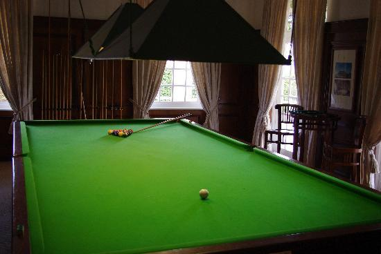 Lyngrove Wines and Guesthouse: Billiard room and Bar
