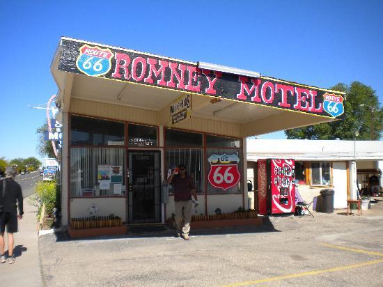 Romney Motel: quintessential Route 66 atmosphere