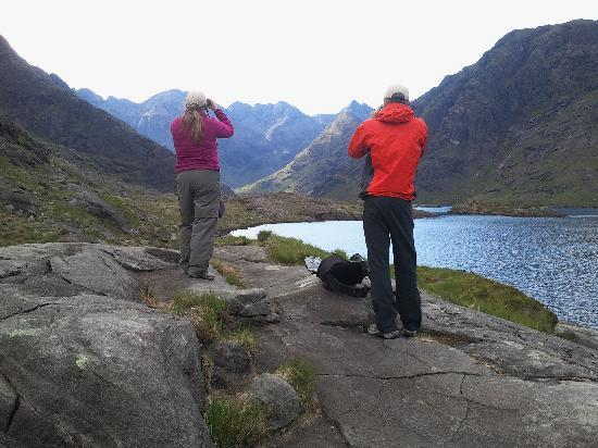 Around Loch Ness: Loch Coruisk Skye - this picture does not do it justice