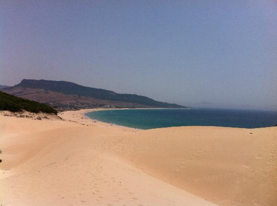 Playa de Bolonia: Vista desde la duna