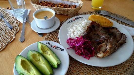 Tren Ecuador: Gastronomia de Salinas-Imbabura