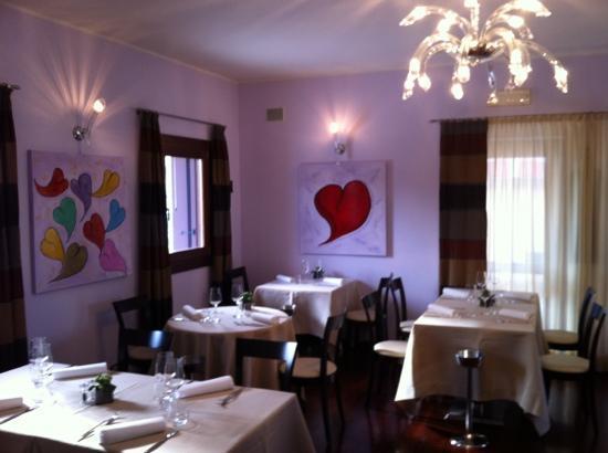 Latisana, Włochy: ristorante da boschet sala interna