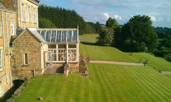 Wyck Hill House Hotel & Spa: View from room 17