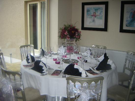 Talbot Hotel: Wedding table