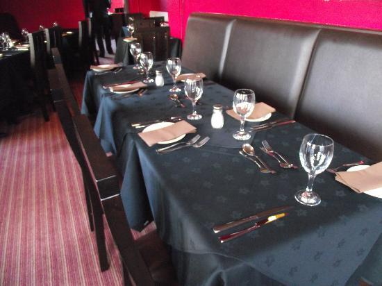 Pompeii Steakhouse: The main dining room