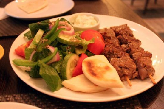 Olive Bangkok: So tender lamb kebabs!