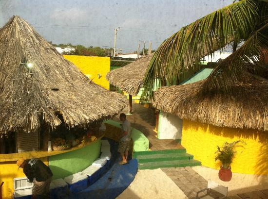 Posada Galapagos: Desde la ventana
