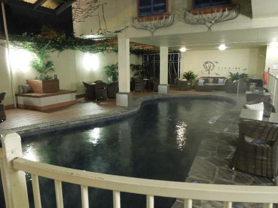 Tiffins on the Park: Indoor Pool with Lounge Suites