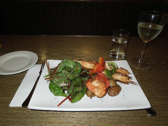 Tiffins on the Park: Tam Yum Prawns & Squid