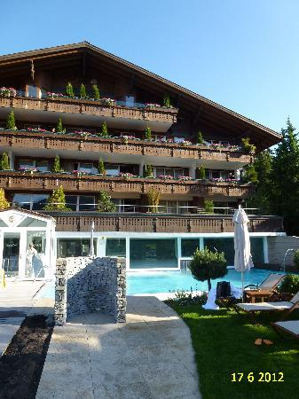 ERMITAGE Wellness- & Spa-Hotel: VIEW OF RENOVATED WELLNESS & SPA HOTEL ERMITAGE.