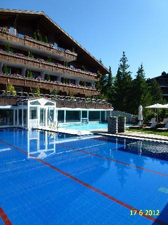 VIEW OF RENOVATED WELLNESS & SPA HOTEL ERMITAGE.