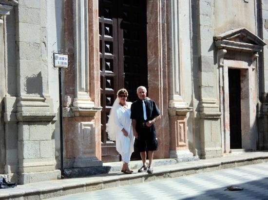 Giardini-Naxos, Italien: Savoca - Chiesa S. Lucia