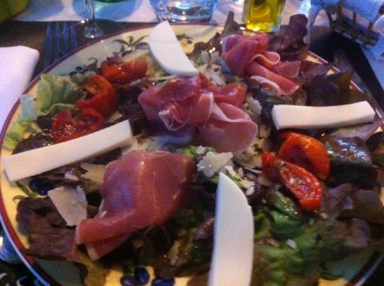 Le Repaire: salade