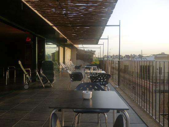 Casa Camper Hotel Barcelona : It's nice terrace!