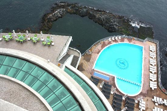 Sheraton Miramar Hotel & Convention Center: Pileta en los bajos del hotel