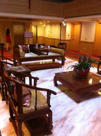Hotel Sunshine: lobby area