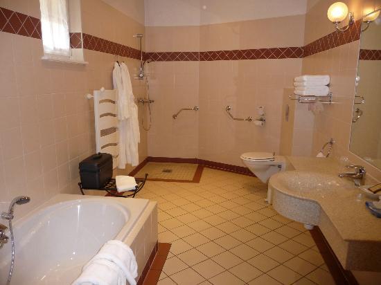 Auberge du Cheval Blanc: salle de bains