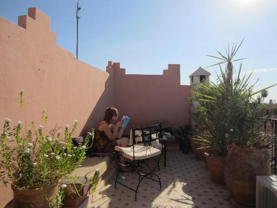 Dar Limoun: Beautiful roof terrace