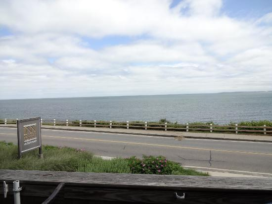 Inn on the Sound: view from the seating area for breakfast