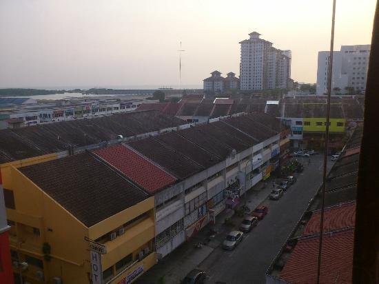 La Boss Hotel, Melaka: View from room
