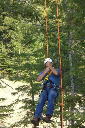 Ashley Inn: Ziplining at Tamarack, we had so much fun.  You are going to love it.  The views are spectacular