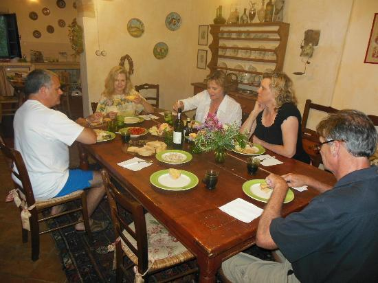 "Casa Bini: we chose to have simple meals ""at home"" often!"