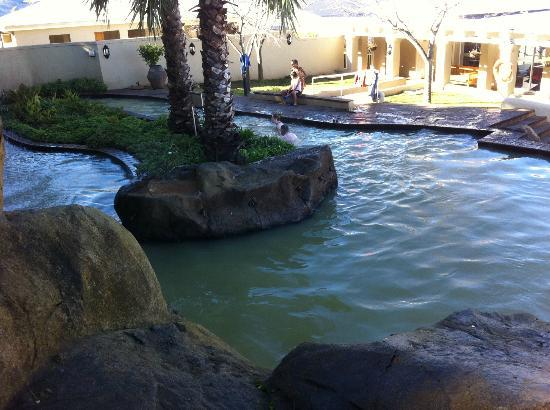Caledon Hotel, Spa, Casino: One of the cooler pools