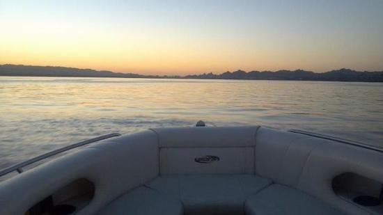 sunset on Lake Havasu