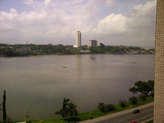 Pullman Abidjan: View from room 406