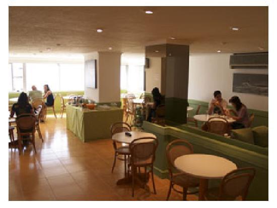 Hostel 828 Bed & Breakfast: Cafetería