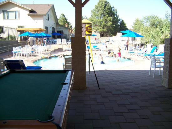Wyndham Flagstaff Resort: Pool area