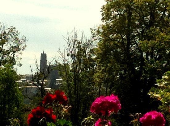 La Ferme de Bourran : Vue sur la cathédrale