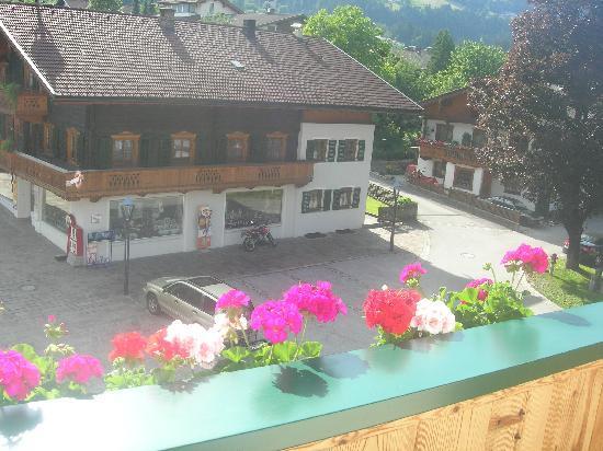 Hotel Post: Balkon