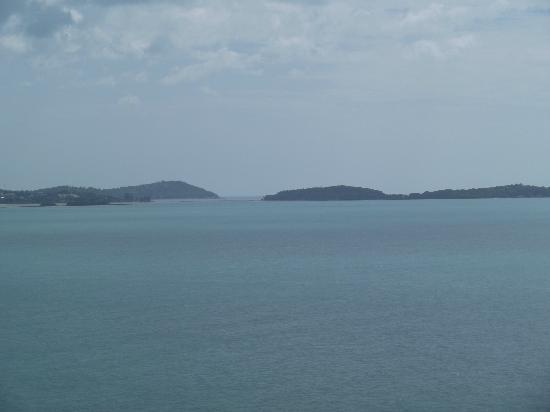Chaba Cabana Beach Resort: Viewfrom Chaba Cabana