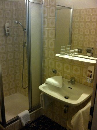 Altpradl Hotel : Bad mit Dusche