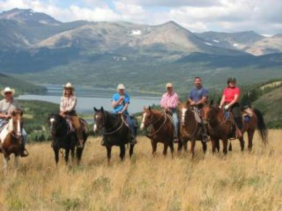 Bear Creek Ranch: Happy riders