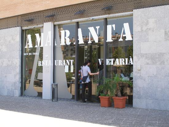 Entrance to Amaranta