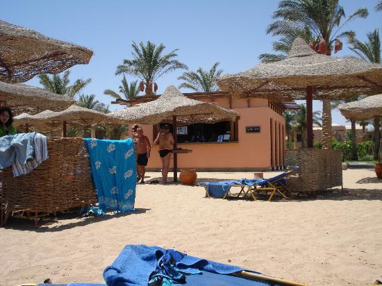 Iberotel Makadi Beach: Bar de la plage