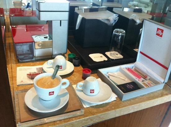 Great Illy Coffee Machine In The Room Picture Of Jw