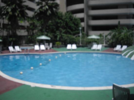 Plaza Paitilla Inn: Vista desde el interior