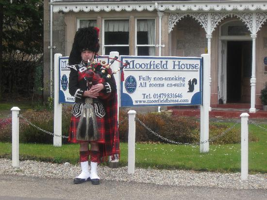 Moorfield House: Spud the Piper