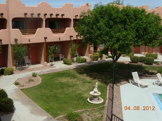 Best Western Gold Canyon Inn & Suites : View from Room 201