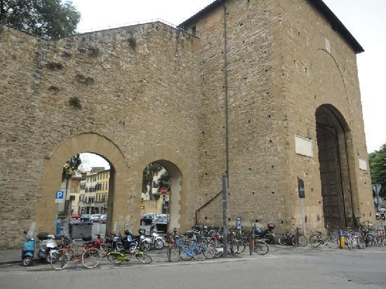 Ancient Gateway With Bikes Picture Of Porta Romana